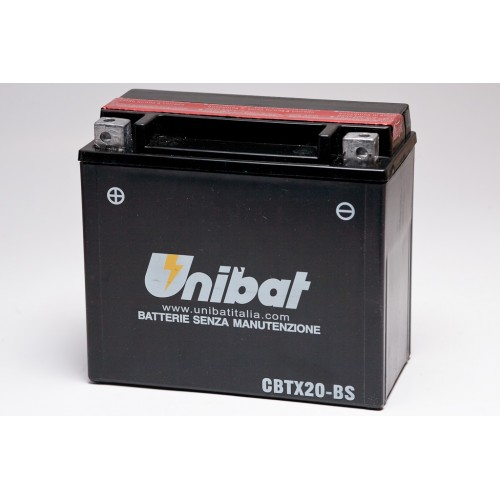 Unibat CBTX20-BS Battery with 3 yr Warranty