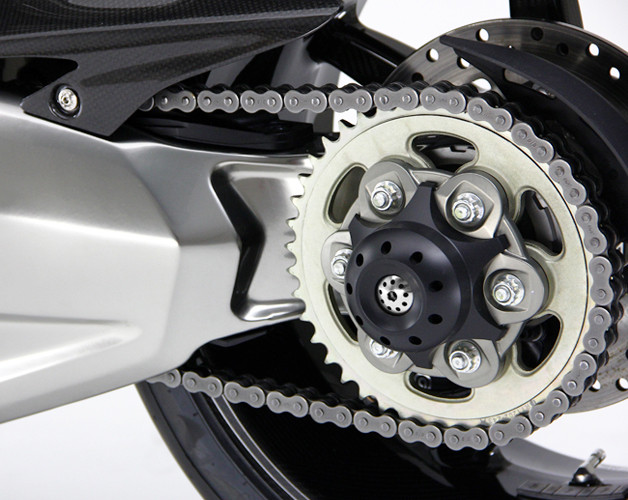 Motocorse DVC Rear axle Slider for Large Rear Hub Ducati's