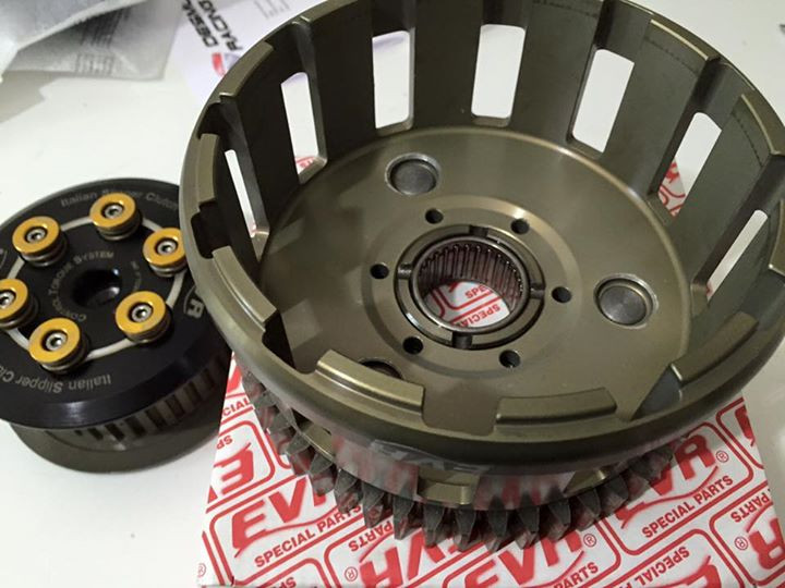 EVR Billet Clutch Basket for CTS Slipper Clutch for the Ducati Panigale V4 / S / Speciale