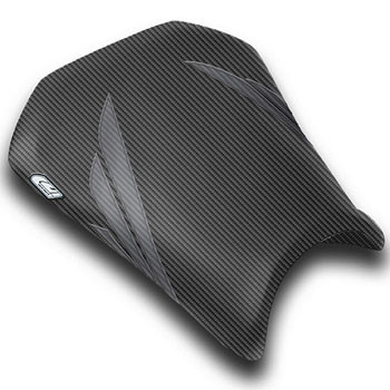 Luimoto Seat Cover for Honda CBR600RR 2005 2006 Black by Sixty61 CBR 600RR