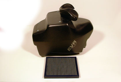 EVR Carbon Fiber Airbox for the Ducati Hypermotard 796/1100