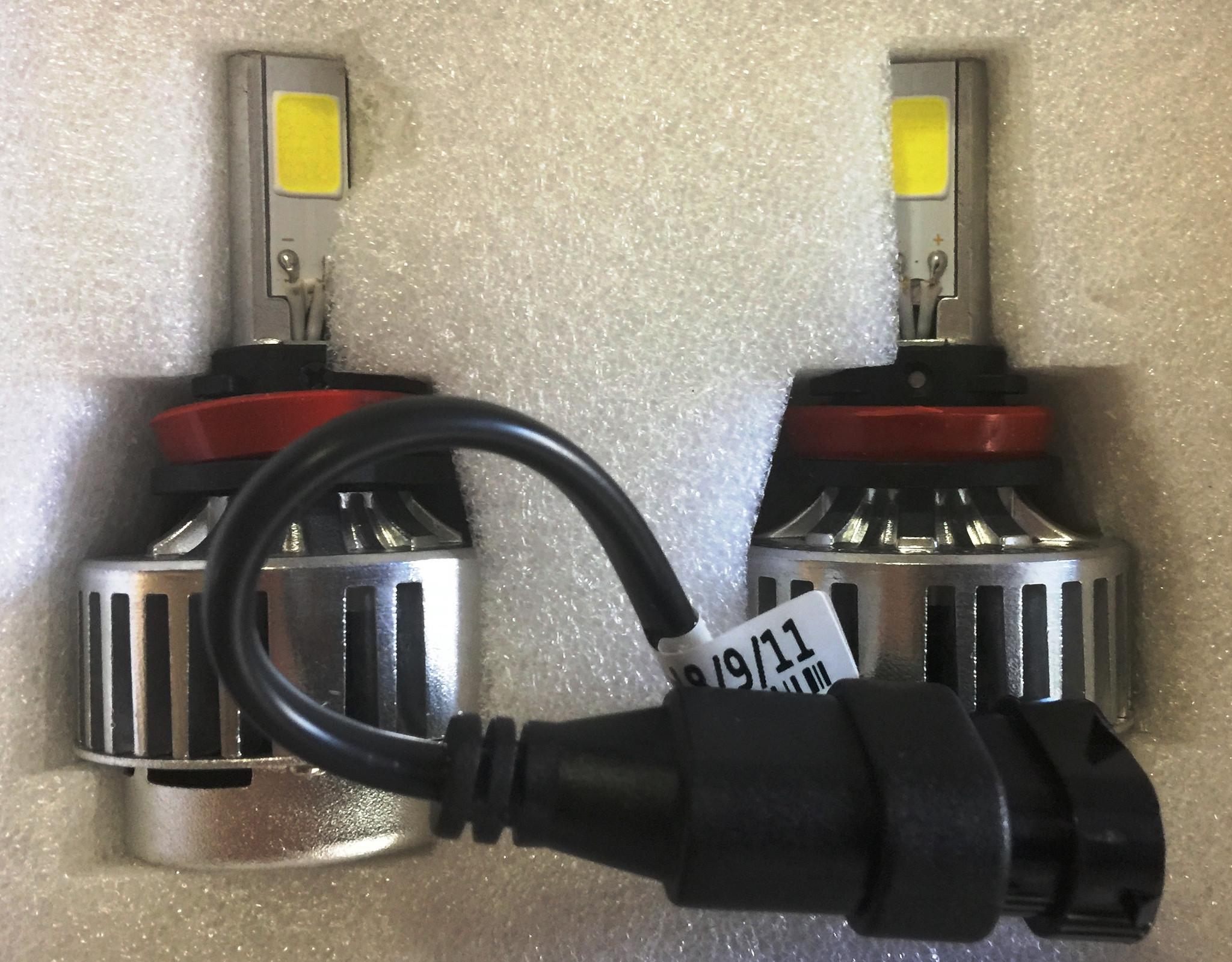 Motobox H11 LED HeadLight Light Bulb Set (pair)