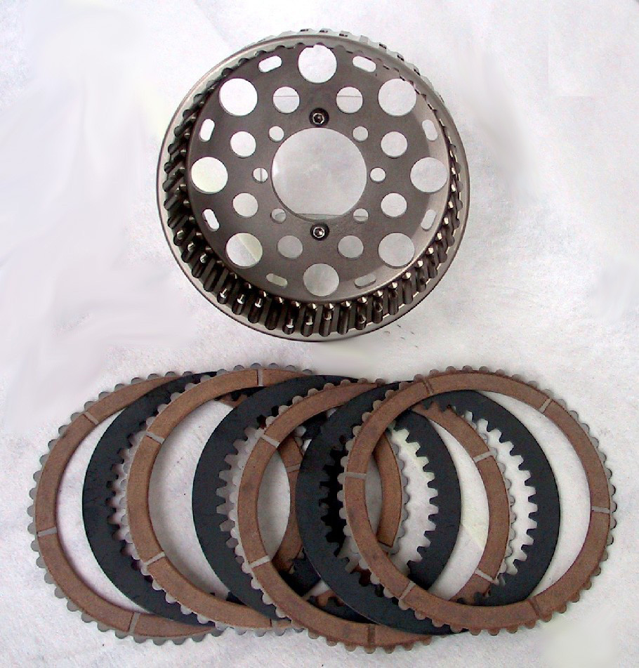 EVR 48 Tooth Plate and Basket Kits for CTS01 & CTS02 Slipper Clutch and Ducati OE Dry Clutch's