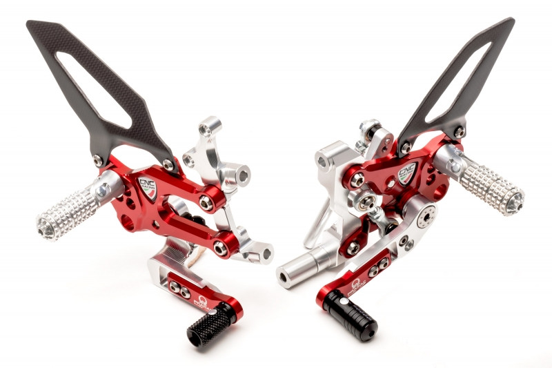 CNC Racing PRAMAC RACING LIMITED EDITION RPS Adjustable Rearset for the Ducati Panigale 899 / 959 / 1199 / 1299 / V2