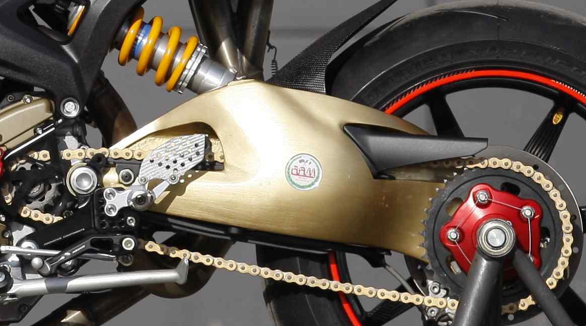 RAM Italia Swingarm for Ducati Hypermotard 1100 / 950 / 939 / 821 / 796 and Monster 1100 / 796